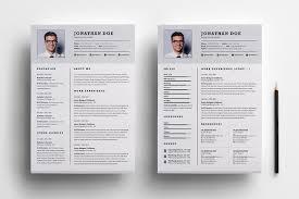 Two Page Resume Sample 13 Nardellidesign Com