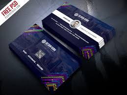 Creative Business Card Template Free Psd Psdfreebiescom
