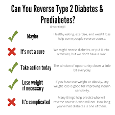 Can You Reverse Type 2 Diabetes And Prediabetes