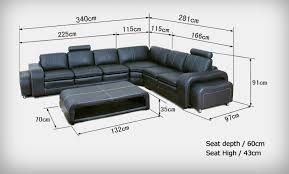 black color l shape sofa set