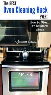 best whirlpool oven cleaning self with water way to clean door glass
