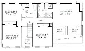 4 Bedroom House Floor Plan 4 Bedroom House Blueprints 5 Trendy Design Plans  With Office 4 . 4 Bedroom House Floor Plan ...