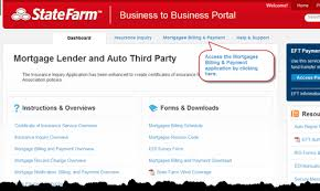 State farm insurance is often accused of not fulfilling contracts. B2b Mortgage Lender And Auto Third Party Step 1 Accessing The Mortgagee Billing And Payment Application