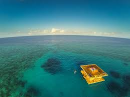 real underwater hotel. Sleeping Underwater With A View Under The Ocean. Wondering What Will Swim Past. First Real Hotel Has Opened Its Doors.