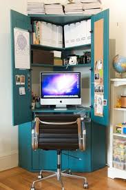 office armoire ikea. Google Image: Love The Color; Ikea Computer Armoire Painted Office