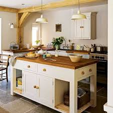 Endearing Country Style Kitchen 5 Kentish Cottage With Blue Walls