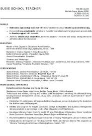 Profile Resume Example Career Profile Lily Profile Resume Examples