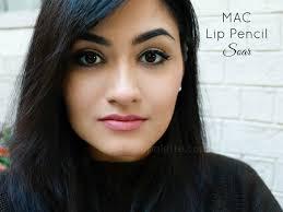 mac lip pencil soar review in