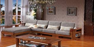 L Shaped Wooden Sofa Design New 2018 SofamoeInfo