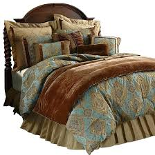 brown and blue bed set black and blue comforter set sets queen size damask sky traditional brown and blue bed set