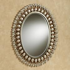Decorative Oval Bathroom Mirrors Doherty House Assembling Oval