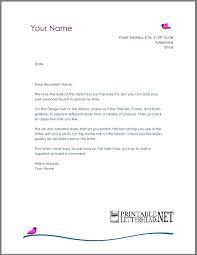7 amazing personal letterhead template
