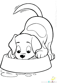 Cute Puppies Coloring Pages Practical Cute Puppy Coloring Pages To