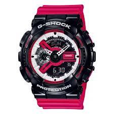 Наручные <b>часы CASIO GA</b>-<b>110RB</b>-<b>1AER</b> — купить в интернет ...