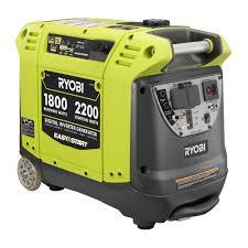 ryobi 1800 watt gasoline powered p ortable generator with digital inverter