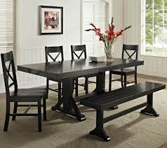Cottage Style Kitchen Tables 26 Big Small Dining Room Sets With Bench Seating