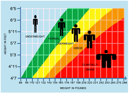Underweight Normal Overweight Chart Graphs Of Inequalities In One Variable Real World
