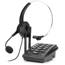 call center dialpad corded tel
