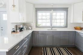 What Color Backsplash With White Cabinets Impressive 48 Ways To Style Gray Kitchen Cabinets