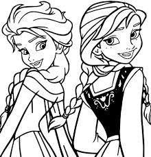 Immagini Da Colorare Di Frozen Elsa Anna Olaf Reno Il