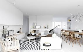 scandinavian design furniture ideas wooden chair. White Sofa With Round Brown Wooden Table Striped Rug Furniture Dining Set  Ceramics Flooring Inspiring Scandinavian Wood And Leather Your Decorating Idea Design Ideas Chair N