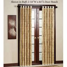 amazing patio door panels bamboo patio door grommet panels patio decorating ideas