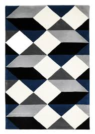 Geometric Rugs Create the Right Interior of a Modern Room