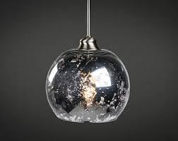 mercury glass lighting fixtures. mercury glass pendant light fixture edison bulb brushed nickel kitchen lighting fixtures s