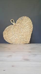 huge 3ft straw rattan wall fan vintage boho woven heart shape fan wall decor