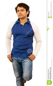 indian male model wearing tshirt royalty free stock photo