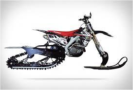 dirt bike snow kit