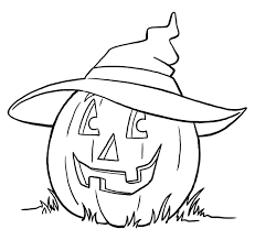 Flask Halloween Coloring Page