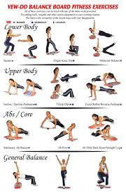 Indo Board Exercise Chart Pin On Health Fitness