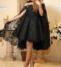 2018 Designer Gown Us 90 89 39 Off 2018 Designer Custom Made Lace Black Short Cocktail Dresses Plus Size Saudi Arabia Party Dress Short Prom Gown In Cocktail Dresses