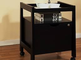 File Cabinets With Wheels Decor 8 Decorative File Cabinet For Office Pecan Wooden Drawers