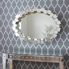 contemporary block all glass mirror by decorative mirrors online