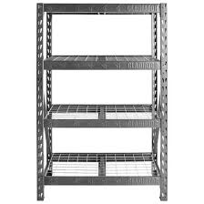 48 wide heavy duty rack with four 18 deep shelves