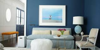 blue walls living room decorating ideas 53 stylish for painted accent