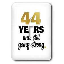3drose janna salak designs anniversary 44 year anniversary still going strong 44th wedding anniversary gift