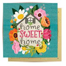 Greeting Card Home Sweet Home – La La Land