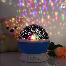 Aliexpress.com : Buy Romantic Led Night Lamp Rotating Starry Star ...