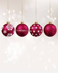 Allenjoy Photography Backdrops Winter Red Xmas Ball Hang Kids Merry