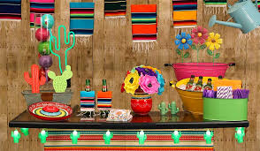 mexican fiesta party decorating ideas