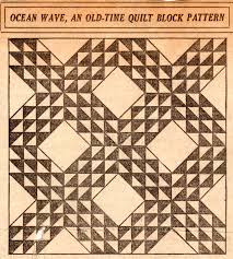 Kansas City Star quilt pattern Archives - Vintage Crafts and More & Vintage Ocean Wave Quilt Pattern – VTNS Fan Freebie Adamdwight.com