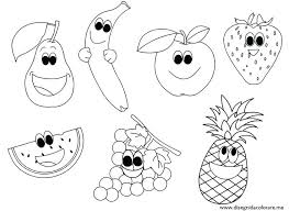 Fruits Coloring Pages Upcomingconcertsincalgaryinfo