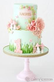 34283659 Flower Cake Summer In 2019 Fairy Garden Cake Fairy