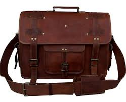 100 in stock vintage couture 18 inch leather messenger bags for men women mens briefcase laptop
