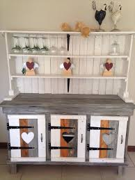 reclaimed pallet sideboard or kitchen cabinet image diy pallet projects