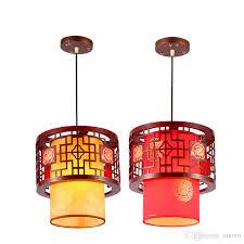 chinese style wooden tea house pendant lamp vintage traditional dining room pendant light balcony corridor restaurant pendant lights modern pendant lights