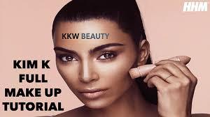 kim kardashian full makeup tutorial 2017
